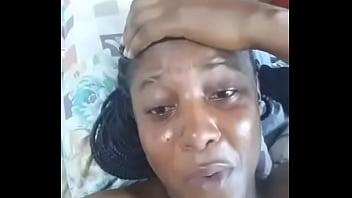 I'm sex starved, I need a dick - Chubby ebony Nigerian woman cries out in a leaked video