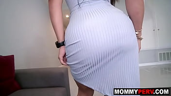 Stepmother and stepson mother's day sex