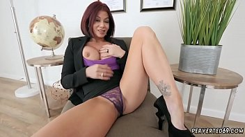Step mom catches duddy' companion jacking off and colle