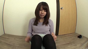 Embarrassed Japanese amateur tries to pee and fart 5 min