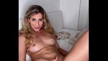 Solo Dildo Awesome Blow Job and Hot Glass Dildo Masturbation