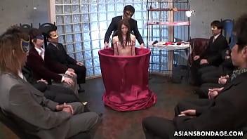 Men all tied up bondage - Rina serizawa is at disposal to kinky men all night