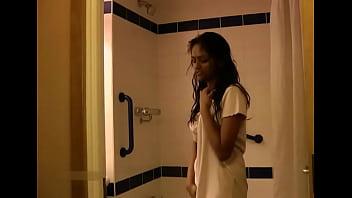 Indian College Girl Divya Taking Shower Fingering Her Virgin Pussy thumbnail