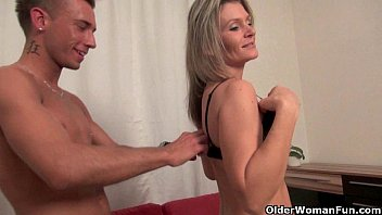 Athletic MILF (Ivy Secret) Pussy Hammered Before Big Facial Cumshot - Mylf