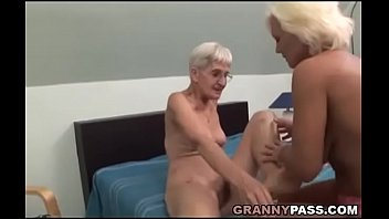 Mature real grandmothers tits and pussy Hairy granny tries lesbian sex