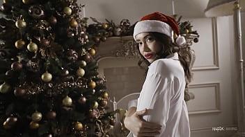 Christmas sexy tree Sexy christmas with nudex