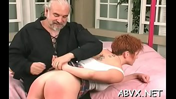Frisky girl is playing with her rubber sex-toy