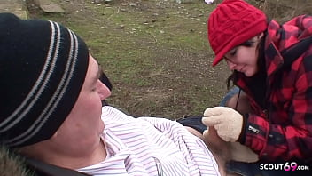 Old Ugly Guy Fuck Real Czech Teen Street Whore Public