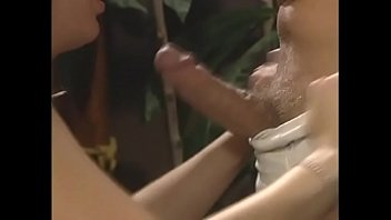 Sexy blonde Avy Scott with big natural tits gets banged on table