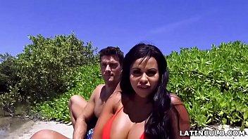 Big ass latina fucks next to a lake # Mary Jean