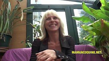 Frannie La Milf Blonde Et Sa Bite De Black