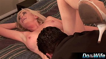 Blonde Wife Fucked In Front Of Husband