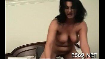 Enticing woman fucks and deepthroats
