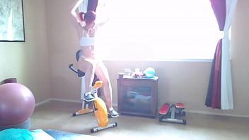 Russian moms nude Aurorawillows motivational bike video