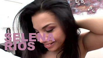Thick petite Latina Selena Rios wrecked by a big cock 12 min