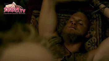 2018 Popular Dagny Backer Johnsen Nude Show Her Cherry Tits From Vikings Seson 5 Episode 7 Sex Scene On PPPS.TV
