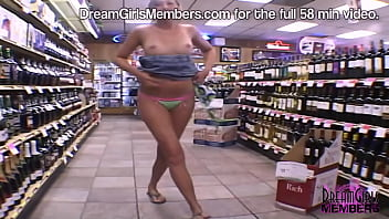 She Gets Buck Naked In The Middle Of A Store