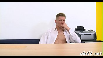 Gay cum shot video clips Hot homosexual porn clips