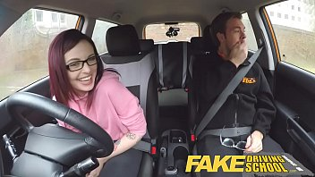 Fake Driving School American Teen Creampied By British Instructor 12 Min