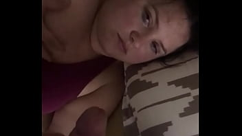 Wife gets rough face fuck
