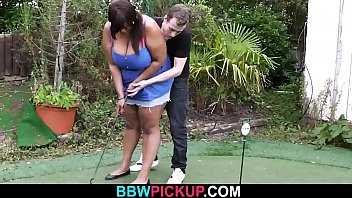 First date sex with busty ebony fatty