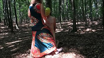 Breathplay in forest