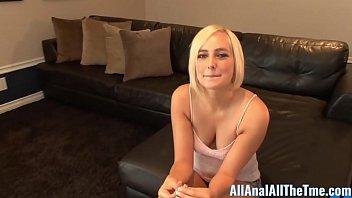 Blonde Teen Kate England Takes Ass Fucking & Anal Creampie! 10 min