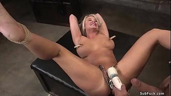 Cheating wife anal fucking in bathroom