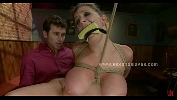 Sara fetish - Sex slave fucking in rough bondage submission sex video