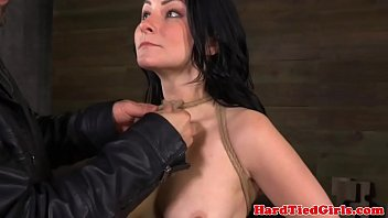 BDSM sub Veruca James muzzled and gagged