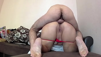 Son Congratulated Mom Happy Birthday With Anal Sex