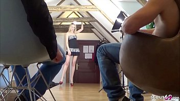 GERMAN PETITE TEEN JENNY IN AMATEUR MMF THREESOME AFTER PARTY 8 min