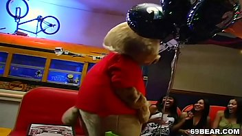 CFNM Dancing Bear Party 4 min