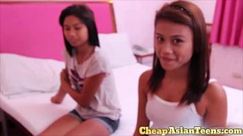 ⑱ Young Hairless Asian Teen Hooker Blowjob - CheapAsianTeens.com 9 min
