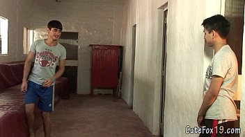 Boy gay kandahar - Two horny gay boys kiss and give head