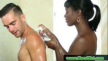 Hot and gooey nuru gel massage 17