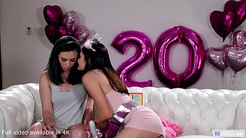 GIRLSWAY - Happy Birthday! It's A Dildo! - Casey Calvert, Adria Rae