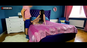 Role-playing game. Escort services with a Russian beauty