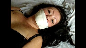 Gagged pantyhose slave Sweetie vlada