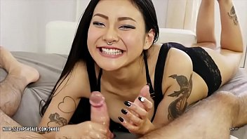 Handjob asian - Genuine asian pleasure torture - japanese massage cock