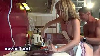 Porno Couple Amateur In The Kitchen