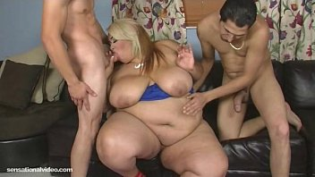 Sexy SSBBW Lovely Sillk Gets Ass Fucked By 2 Studs