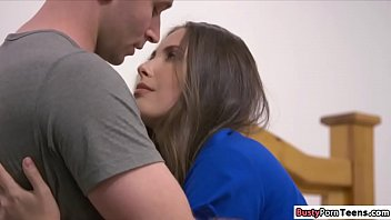 Broken hearted babe banged by stepcousin
