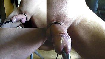 Electro convulsive therapy gay Incroyable electro insertion uretre electrode boule zoom grosplan ejac estim