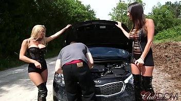 Roadside Assistance (Pt 1 Milking)/Alexis Fawx & Dava Foxx: Men are For Fucking