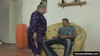 You'd Never Expect This Fat Granny To Be So Naughty