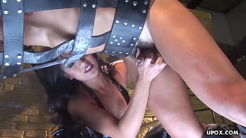 Gwen Diamond had a kinky ffm threesome, the other day