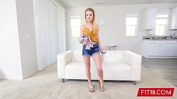 FIT18 - Natalie Knight - 43kg - Casting Tiny 5 Feet Former Cheerleader