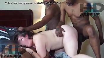 While slut gets all her holes filled with bbc (Vicky Verona, Handsomedevan, Neal stroker , Richard man , Mr.nuttz
