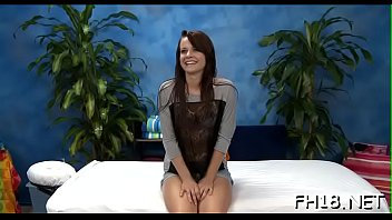 Watch this hawt 18 year old girl bitch get fucked hard by her massage therapist